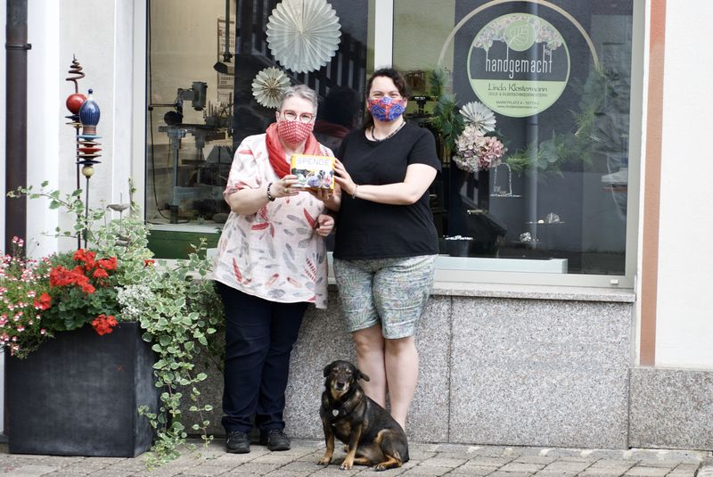 Start ins Neue Jahr mit einer guten Tat – Familie Klostermann aus Tettau erwirtschaftet 2500 Euro durch Maskenverkauf